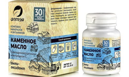 Сбалансированный состав каменного масла уменьшает воспалительный процесс в поджелудочной железе