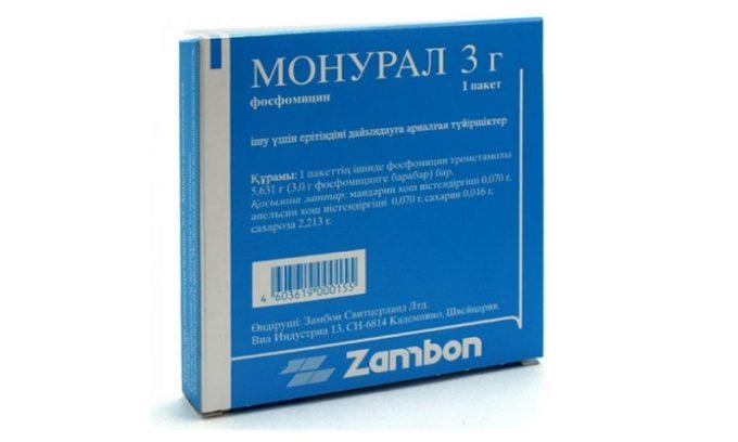 Монурал - современный антибиотик однократного применения