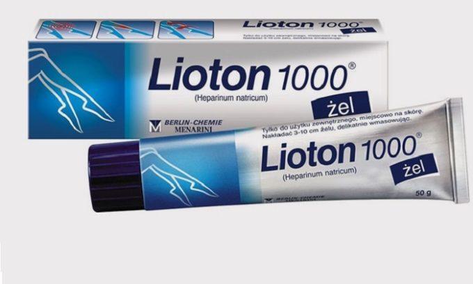 Лиотон, как препарат на основе гепарина, эффективно помогает при варикозе