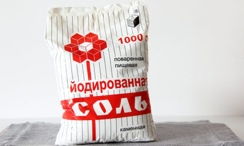Готовить пищу необходимо с йодированной солью, чтобы исключить дефицит микроэлемента