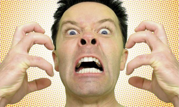 У больного диагностируется повышенная нервозность и раздражительность
