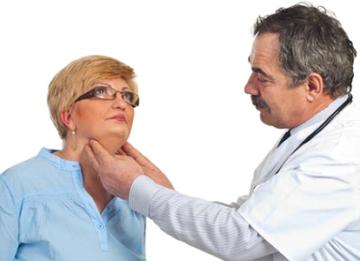 Обследование щитовидной железы при помощи пальпации