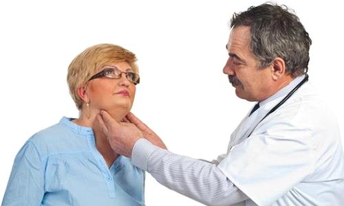 Диагностика заболевания включает визуальный осмотр (сцинтиграфия) и пальпацию
