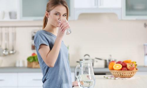В выработке тиреоидных гормонов главным элементом является йод. Он должен поступать в организм с питьевой водой