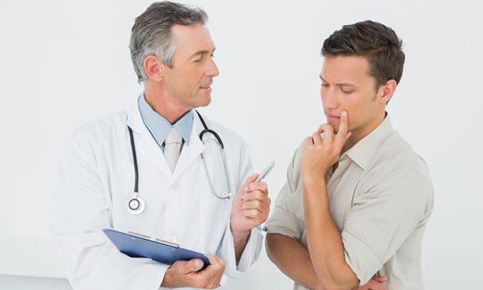 Поставить диагноз должен квалифицированный врач