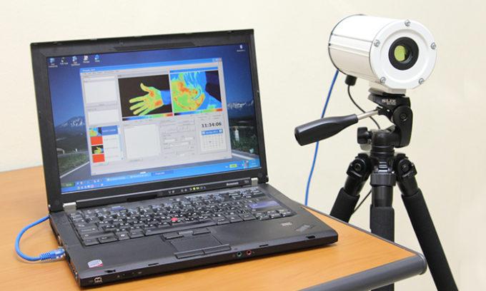 Метод термографии позволяет получить видимое излучение посредством инфракрасного излучения