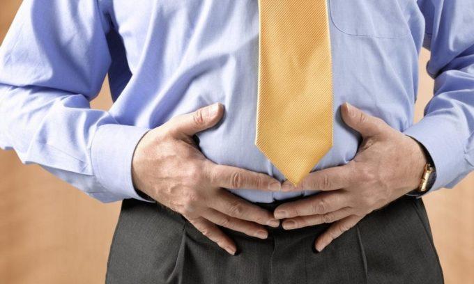 Хронический холецистит сопровождается вздутием живота
